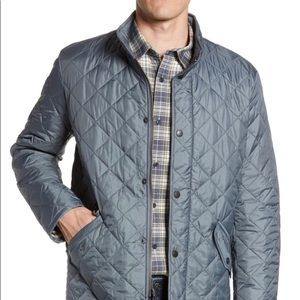 Barbour Jackets & Coats - Barbour grey quilted Jacket